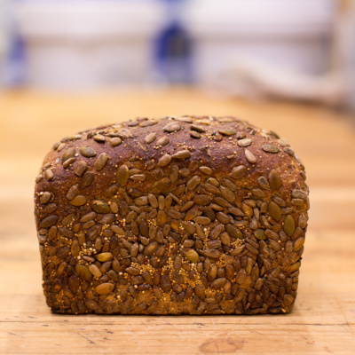 Shelly Bay Baker-Seeded Pan Loaf